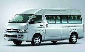 รถเช่าเชียงใหม่ Toyota commuter