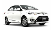 รถเช่าเชียงใหม่ Toyota  new Vios 2019