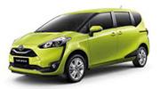 รถเช่าเชียงใหม่ Toyota Sienta